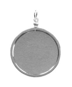 Lisa Pavelka Silver Watch Piece Bezel
