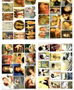 Lisa Pavelka Waterslide Transfers - Fine Arts Collection2