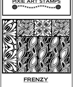 Pixie Art Stamp - Frenzy