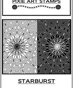 Pixie Art Stamp - Starburst