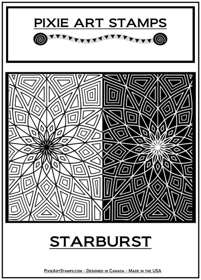 Pixie Art Stamp - Starburst