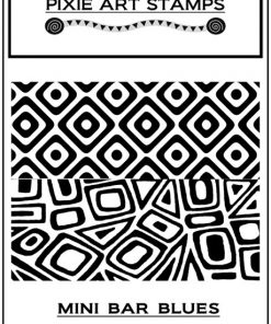 Pixie Art Stamp - Mini Bar Blues