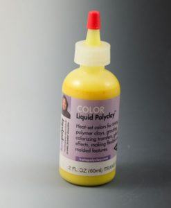 Kato Liquid Polyclay – Translucent Yellow