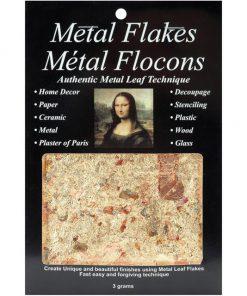 Mona Lisa Metal Flakes - Variegated (3gm)