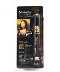 Mona Lisa Metal Leaf Adhesive Pen with Gold Leaf