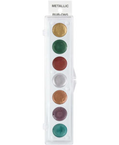 KIT #1   Metallic Rub-On Paint Set - 7 Colors