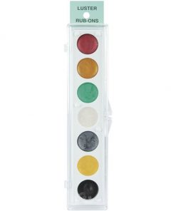 KIT #4   Metallic Rub-On Paint Set - 7 Colors
