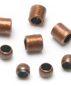 Jewellery Basics - Crimp Tubes and Crimp Beads, 2mm, Copper