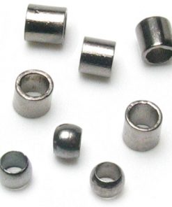 Jewellery Basics - Crimp Tubes and Crimp Beads, 2mm, Gunmetal