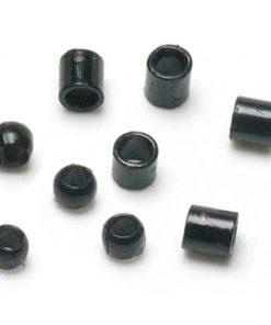 Jewellery Basics - Crimp Tubes and Crimp Beads, 2mm, Black