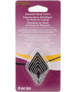 Premo Sculpey Cutter Set - Graduated Diamond Set