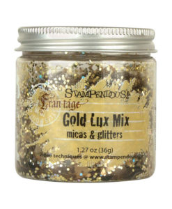 Stampendous Micas and Glitters -  Fran-tage Gold Lux Mix