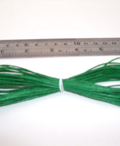 Hemp Cord – Green 1mm x 9m