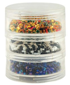 Screw Stack Storage Cannisters 3 pk
