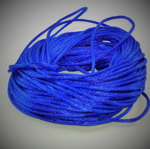 Chinese Knotting Cord - Royal Bule - Sold by the Metre