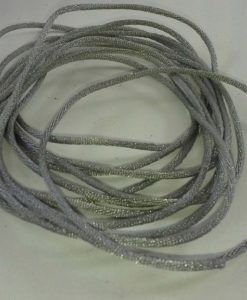 Satin Rattail Cording -  Grey - Sold by the Metre