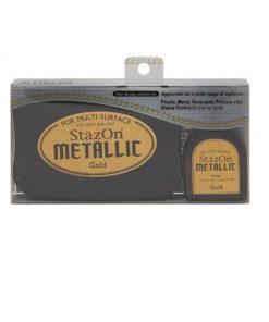 Tsukineko - StazOn Metallic Ink Pad Kit - Gold