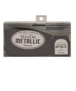 Tsukineko - StazOn Metallic Ink Pad Kit - Platinum