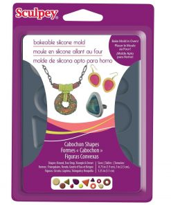 Sculpey Bakeable Cabochon Shapes Mould.1