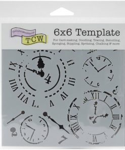 The Crafter's Workshop Stencil - Mini Time Travel