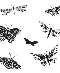 The Crafter's Workshop Stencil - Mariposas