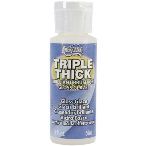 Americana Triple Thick Brilliant Bush on Thick Glaze