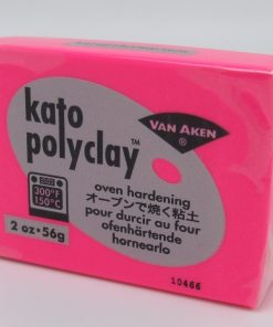 Kato Polyclay 56g – Neon Pink