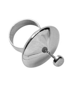 Lisa Pavelka Silver Spinner Ring