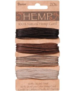 Hemp Cord – Earthy 1mm x 36.6m