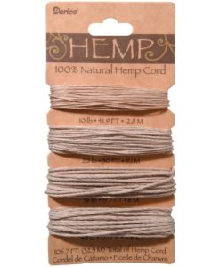 Hemp Cord – Natural 1mm x 32.2m