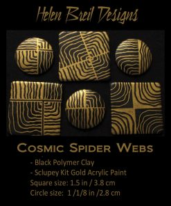 Silk Screens by Helen Breil - Cosmic Spider Webs2