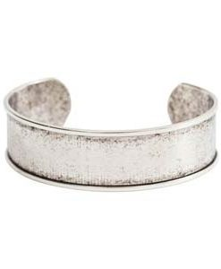 Antique Silver Cuff Blank by Nunn Design