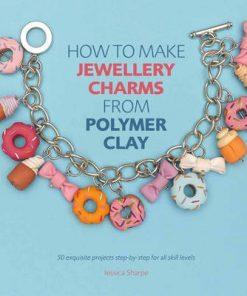 how to make jewellery charms from polymer clay