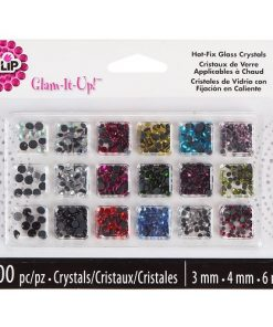 Glam it up - Hot fix crystals
