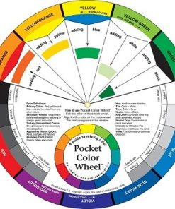 Pocket Colour Wheel - Mixing Guide