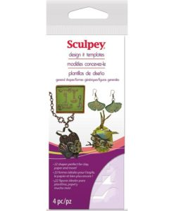 Sculpey Design Templates - General Shapes