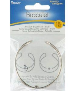 Wire Cuff Bracelet Form