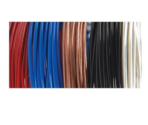 Fun Wire - 22g Coated Copper Wire - Primary Colours