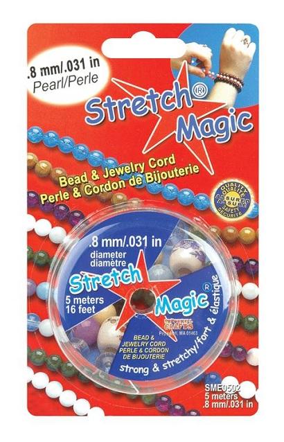 Stretch Magic .8mm Pearl