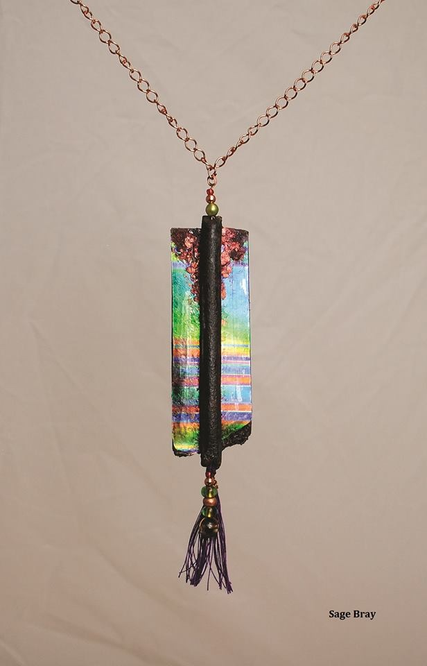 Tavoos Pendant by Sage Bray