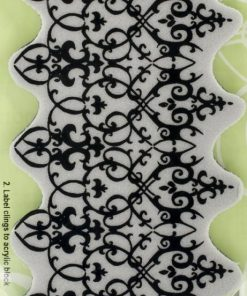 Cling Stamp - Ornate Border