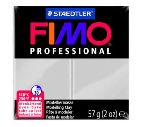 Fimo Professional - Dolphin Grey 57g
