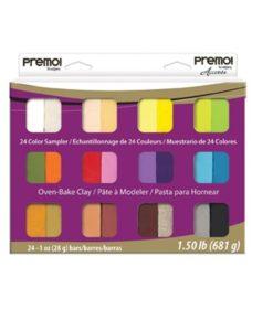 Premo! Sculpey 24 Colour Sampler Pack