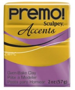 Premo Sculpey Accents, Antique Gold 57g