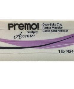 Premo Sculpey Accents, Pearl 454g (1 lb)