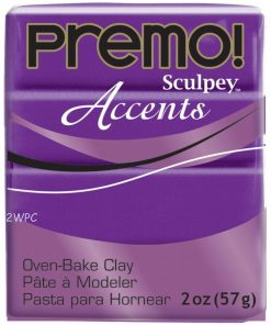 Premo Sculpey Accents, Purple Pearl 57g