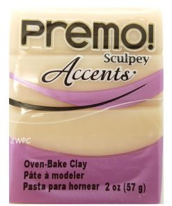 Premo Sculpey Accents, Translucent 57g