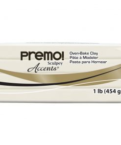 Premo Sculpey Accents, White Translucent 454g (1 lb)