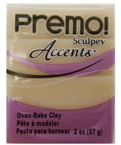 Premo Sculpey Accents, White Translucent 57g