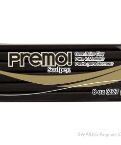 Premo Sculpey Polymer Clay - Black 227g